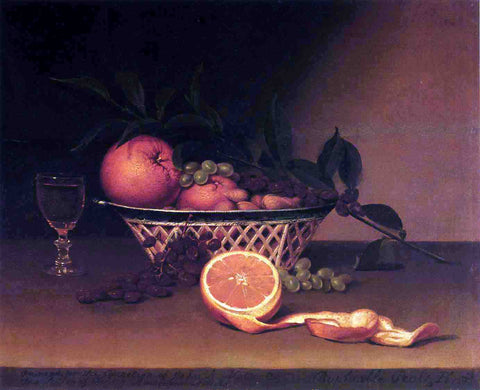 Raphaelle Peale Still Life with Oranges - Hand Painted Oil Painting