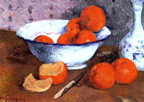 Paul Gauguin Still Life with Oranges - Hand Painted Oil Painting