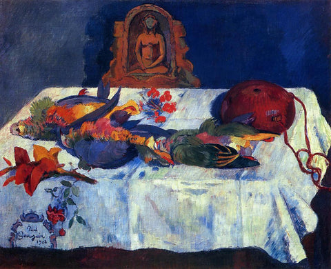 Paul Gauguin Still Life with Parrots - Hand Painted Oil Painting