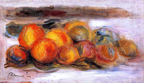 Pierre Auguste Renoir Still Life with Peaches - Hand Painted Oil Painting