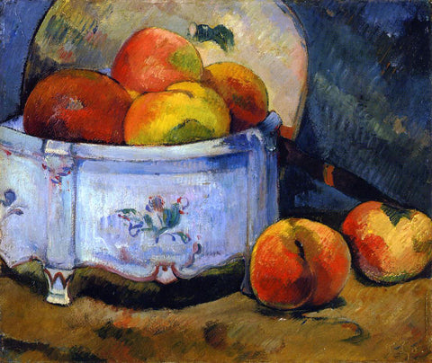 Paul Gauguin Still Life with Peaches - Hand Painted Oil Painting