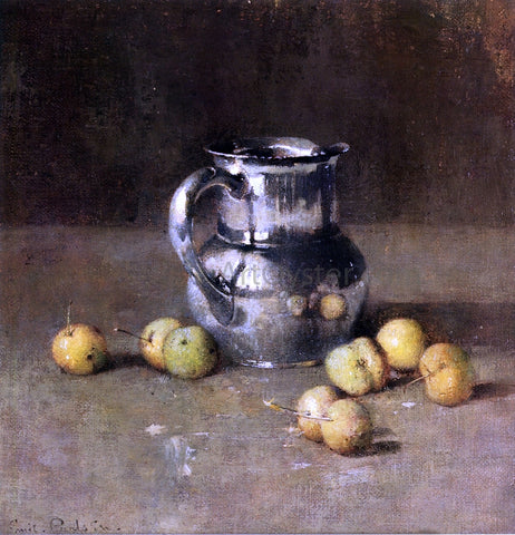 Emil Carlsen Still LIfe with Pitcher and Pivar - Hand Painted Oil Painting