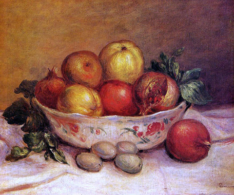 Pierre Auguste Renoir Still Life with Pomegranates - Hand Painted Oil Painting