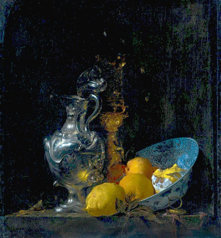 Willem Kalf Still Life with Silver Jug - Hand Painted Oil Painting