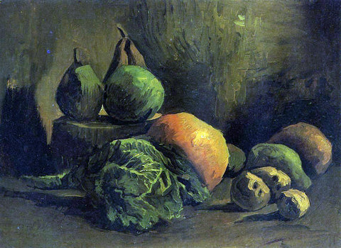 Vincent Van Gogh Still Life with Vegetables and Fruit - Hand Painted Oil Painting