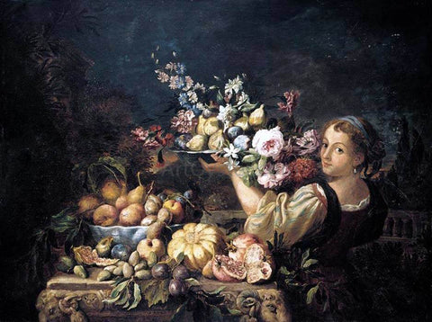 Abraham Brueghel Still-Life - Hand Painted Oil Painting