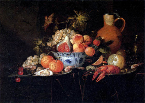 The Younger Jan Pauwel Gillemans Still-Life - Hand Painted Oil Painting