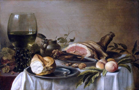 Pieter Claesz Still-Life - Hand Painted Oil Painting