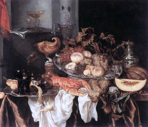 Abraham Van Beyeren Still-Life - Hand Painted Oil Painting