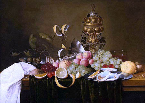 The Elder Jan Pauwel Gillemans Still-Life - Hand Painted Oil Painting
