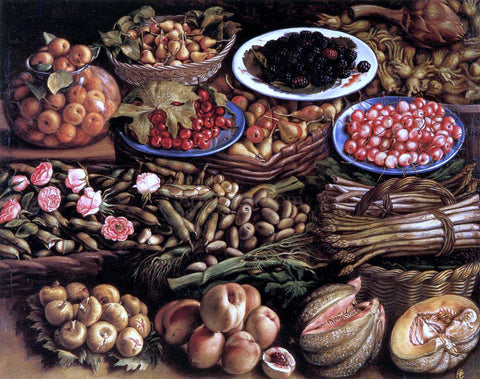 Vincenzo Campi Still-Life - Hand Painted Oil Painting