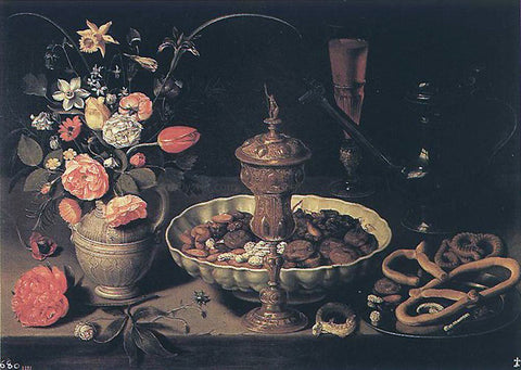 Clara Peeters Still-Life - Hand Painted Oil Painting