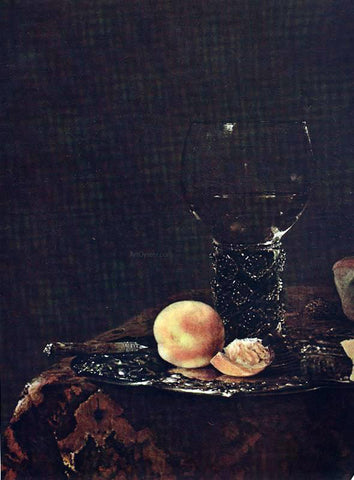 Willem Kalf Still-life (detail) - Hand Painted Oil Painting