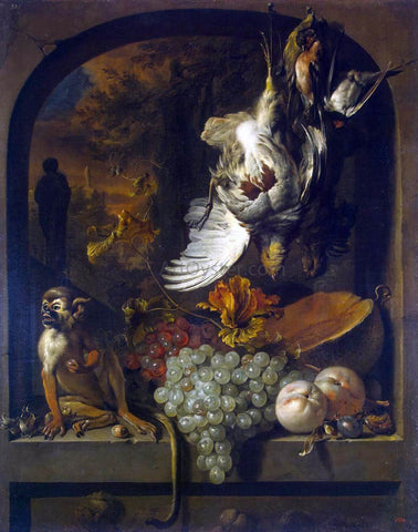 Jan Weenix Still-Life - Hand Painted Oil Painting