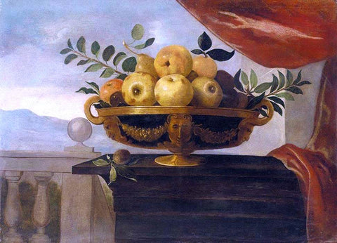 Pedro De Camprobin Still-Life of Fruit - Hand Painted Oil Painting