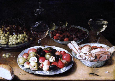 Osias Beert Still-Life of Fruit - Hand Painted Oil Painting