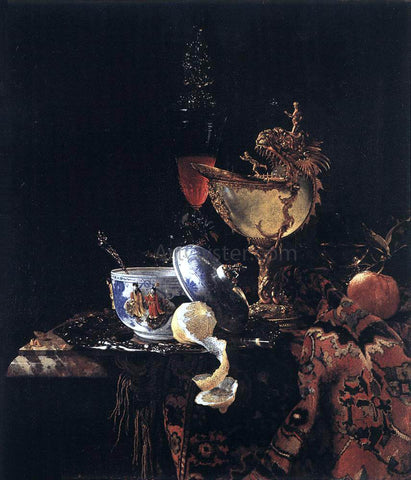 Willem Kalf Still-Life with a Nautilus Cup - Hand Painted Oil Painting