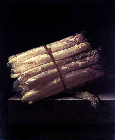 Adriaen Coorte Still-Life with Asparagus - Hand Painted Oil Painting