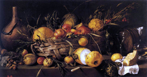 Antonio De Pereda Still-Life with Fruit - Hand Painted Oil Painting