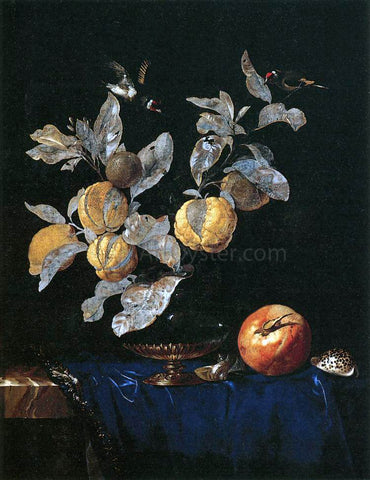 Willem Van Aelst Still-Life with Fruit - Hand Painted Oil Painting