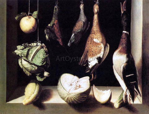 Juan Sanchez Cotan Still-Life with Game Fowl - Hand Painted Oil Painting