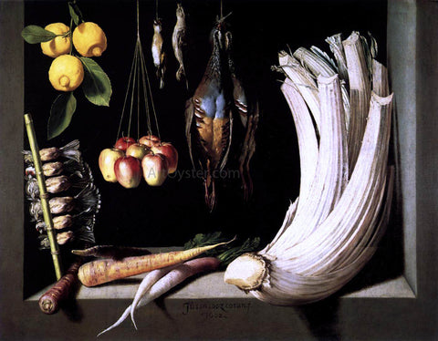 Juan Sanchez Cotan Still-Life with Game, Vegetable and Fruit - Hand Painted Oil Painting
