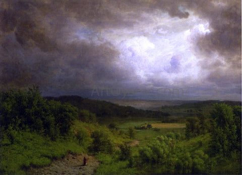 Alexander Helwig Wyant Storm Ahead - Hand Painted Oil Painting