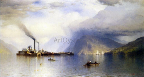 Jr. Samuel Colman Storm King on the Hudson - Hand Painted Oil Painting