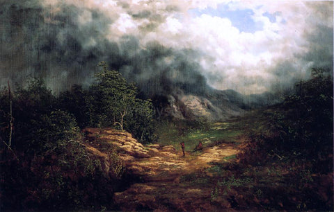 William Anthony Frerichs Storm over the Blue Ridge - Hand Painted Oil Painting