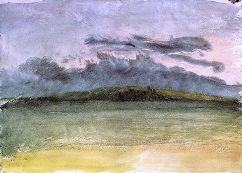 Joseph William Turner Storm-Clouds: Sunset - Hand Painted Oil Painting