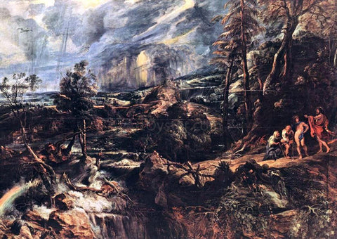 Peter Paul Rubens Stormy Landscape - Hand Painted Oil Painting