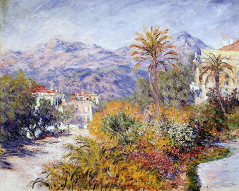 Claude Oscar Monet Strada Romada in Bordighera - Hand Painted Oil Painting