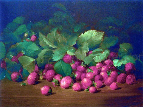 Charles Ethan Porter Strawberries - Hand Painted Oil Painting