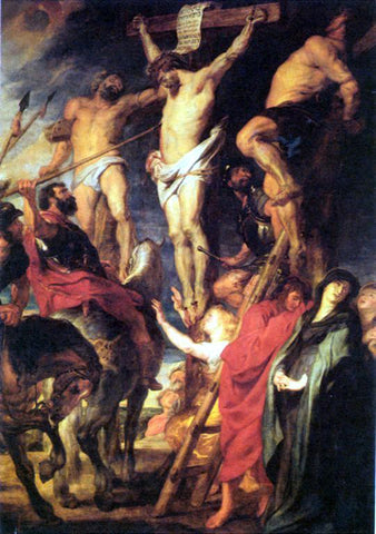 Peter Paul Rubens Strike with a Lance - Hand Painted Oil Painting