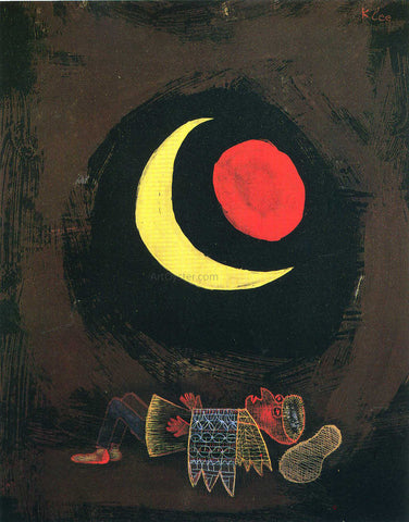 Paul Klee Strong Dream - Hand Painted Oil Painting