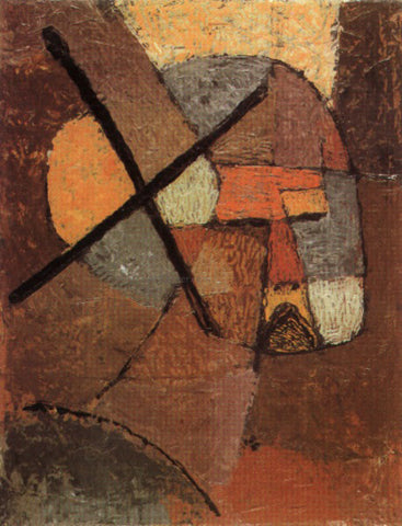 Paul Klee Struck from the List - Hand Painted Oil Painting