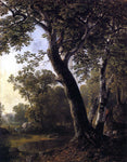 Asher Brown Durand Study from Nature, Hoboken, N.J. - Hand Painted Oil Painting