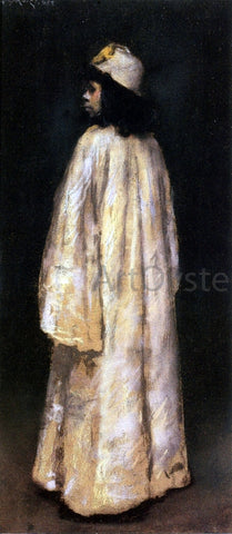 William Merritt Chase Study of an Arab Girl - Hand Painted Oil Painting