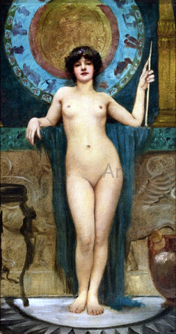 John William Godward Study of Campaspe - Hand Painted Oil Painting