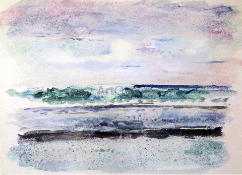 John La Farge Study of Surf, Breaking on Outside Reef Tautira, Taiarapu, Tahiti, March 1891 - Hand Painted Oil Painting