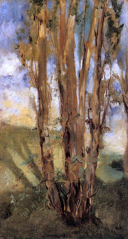 Edouard Manet Study of Trees - Hand Painted Oil Painting