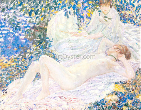 Frederick Carl Frieseke Summer - Hand Painted Oil Painting