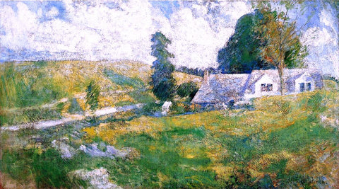 John Twachtman Summer - Hand Painted Oil Painting