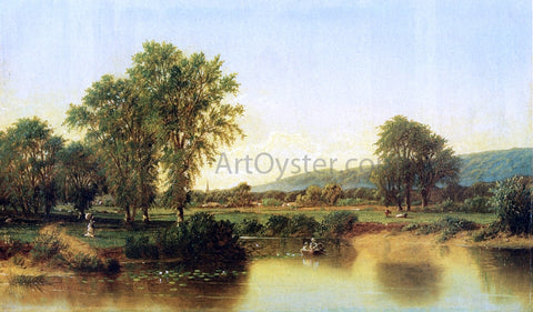 Henry Suydam Summer Afternoon by the River - Hand Painted Oil Painting