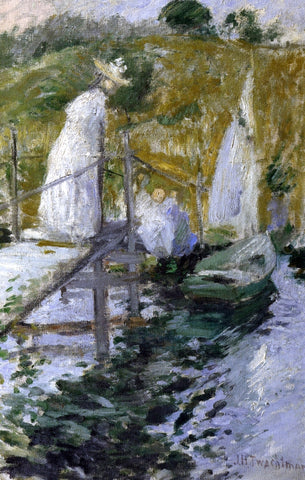 John Twachtman Summer Afternoon - Hand Painted Oil Painting