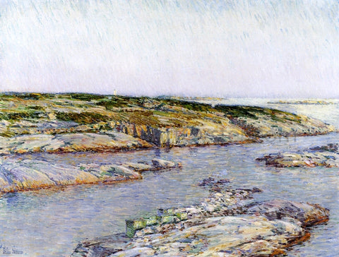 Frederick Childe Hassam Summer Afternoon, Isles of Shoals - Hand Painted Oil Painting