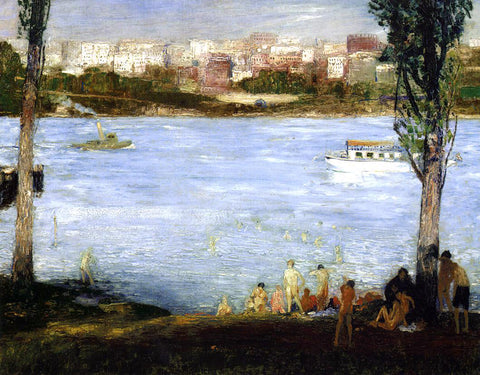 George Wesley Bellows Summer City - Hand Painted Oil Painting