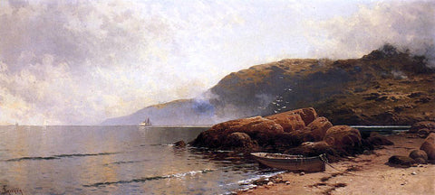 Alfred Thompson Bricher Summer Day at Grand Manan - Hand Painted Oil Painting