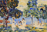 Maurice Prendergast Summer Day - Hand Painted Oil Painting