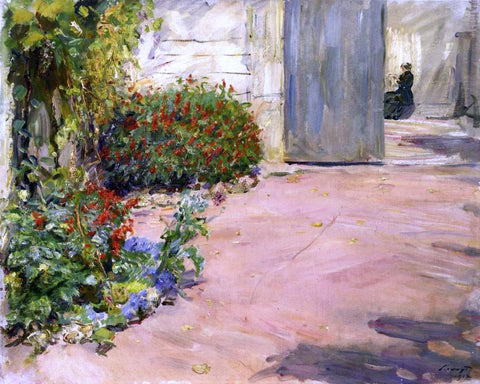 Max Slevogt Summer House Garden - Hand Painted Oil Painting